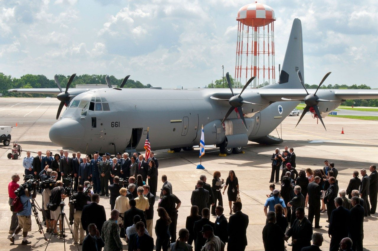 Israel Receives First C-130J Super Hercules: 'Shimshon'